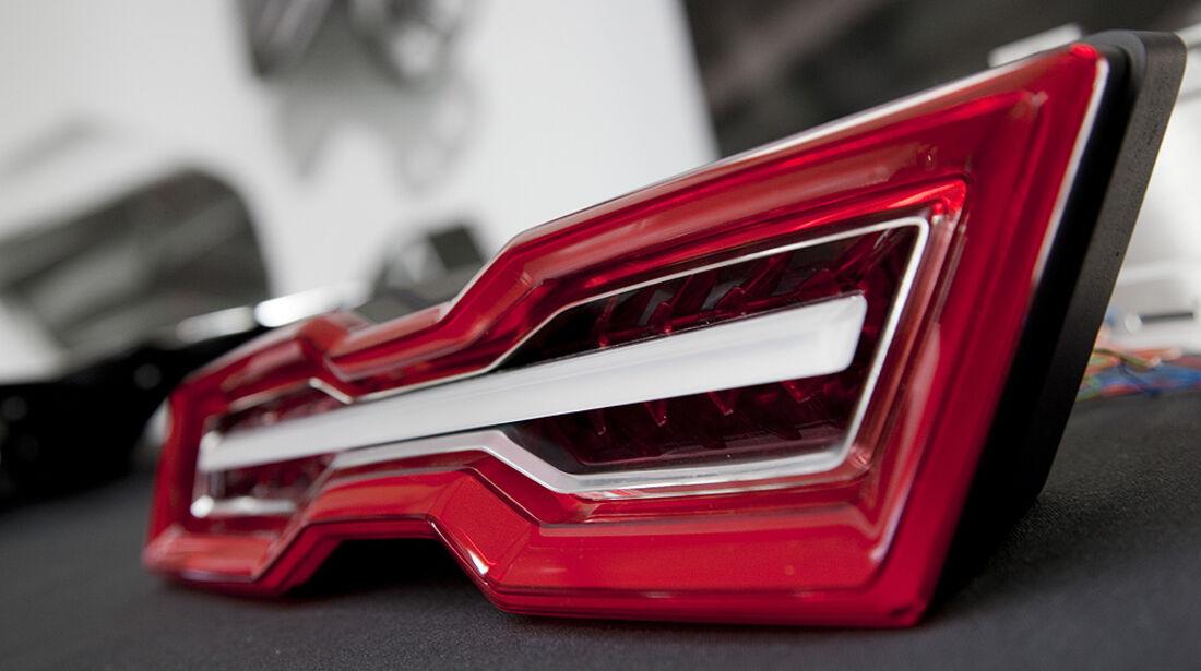 Audi E-Tron Spyder, Rückleuchte