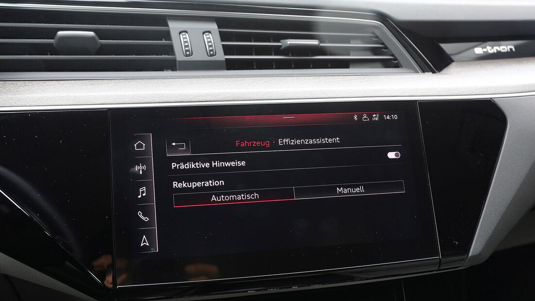 Audi E-Tron, ams 2019_23, Cockpit