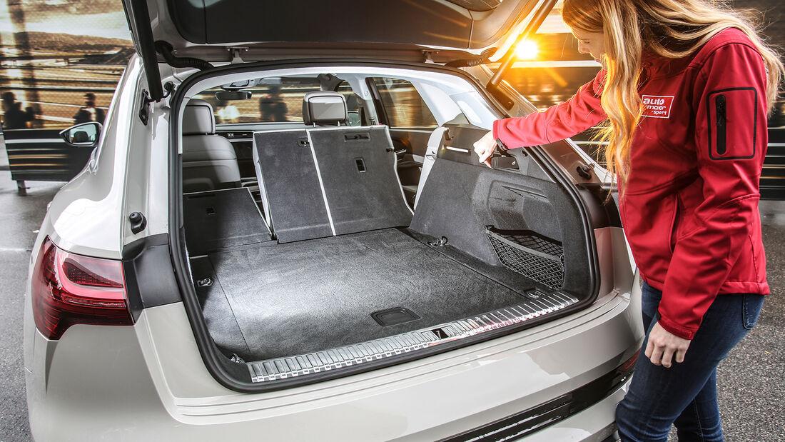 Audi E-Tron, ams 2019_23, Kofferraum