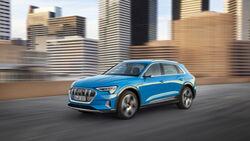 Audi E-Tron, virtuelle Aussenspiegel