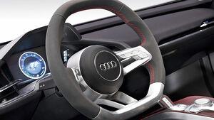 Audi E-tron Spyder, Innenraum