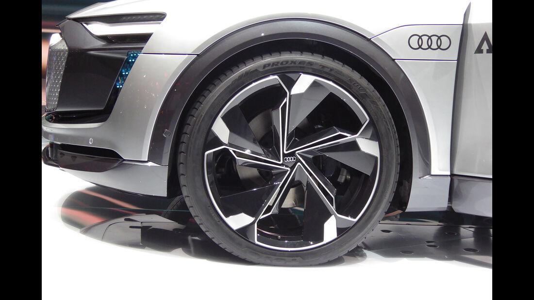 Audi Elaine - Felgen - IAA 2017