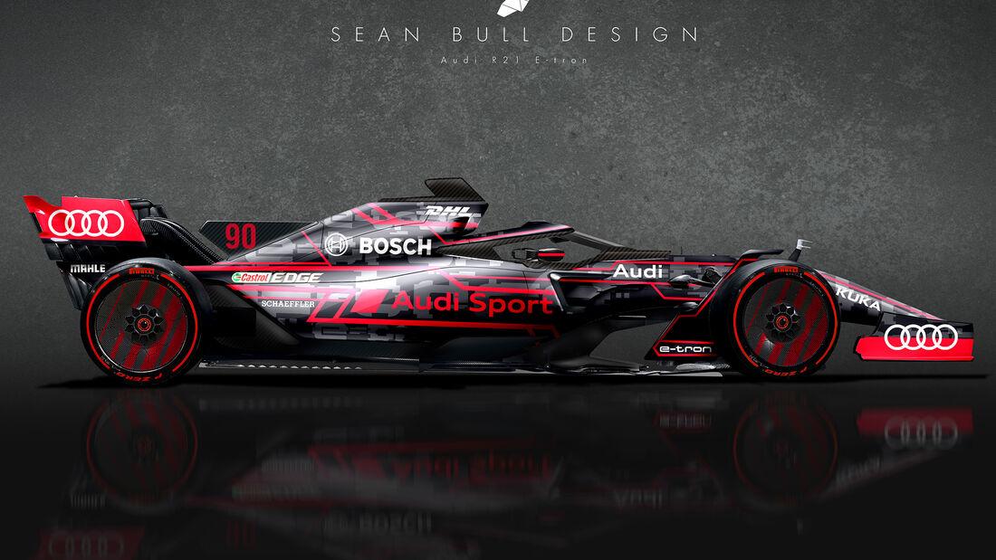 Audi - F1 2021 - Concept - Sean Bull Design