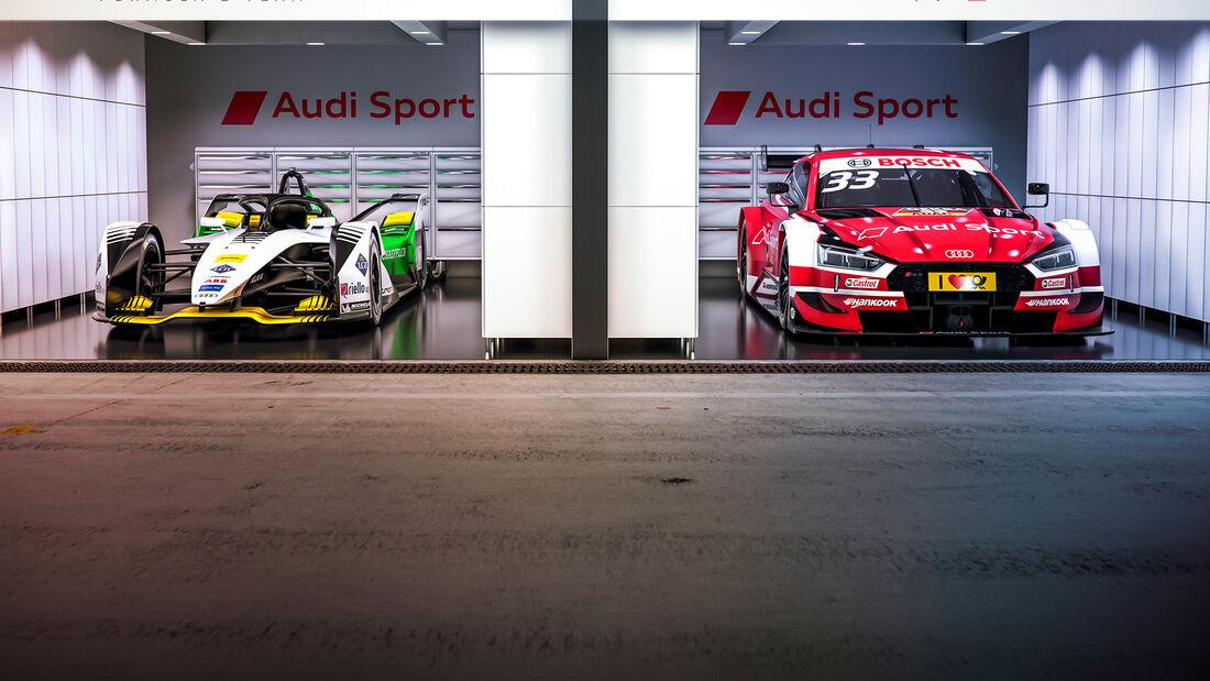 Audi FE05 - Formel E - RS 5