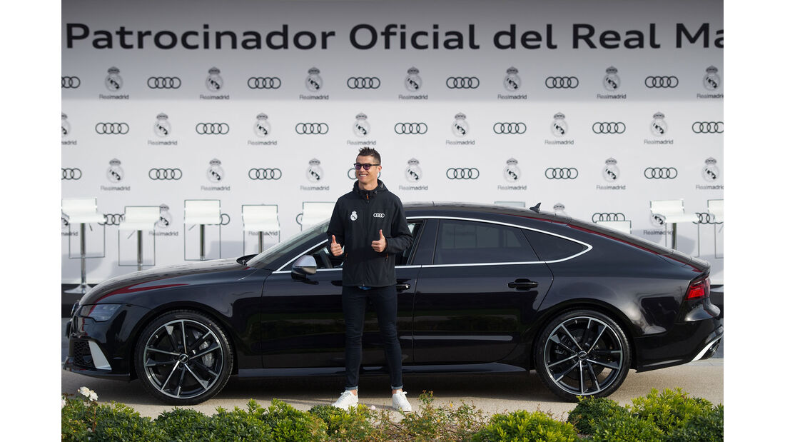 Audi - Fahrzeugübergabe - Cristiano Ronaldo - Real Madrid