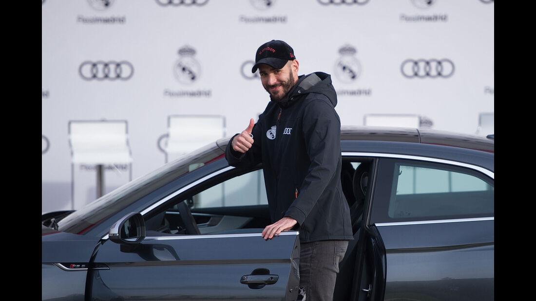 Audi - Fahrzeugübergabe - Karim Benzema - Real Madrid