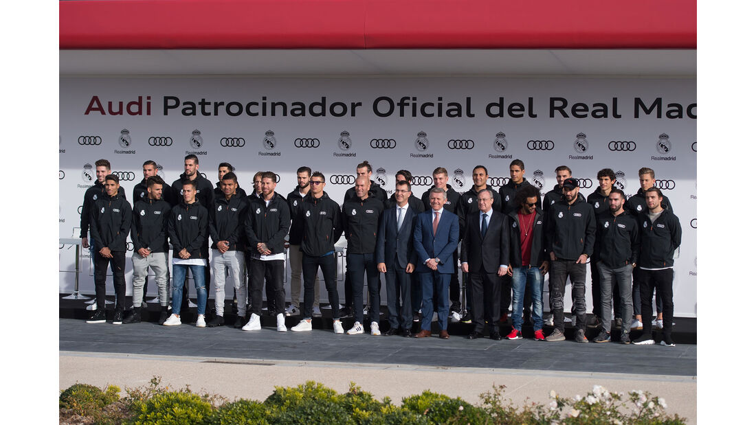 Audi - Fahrzeugübergabe - Real Madrid