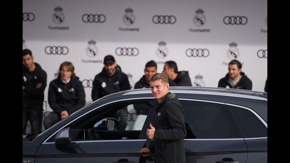 Audi - Fahrzeugübergabe - Toni Kroos - Real Madrid