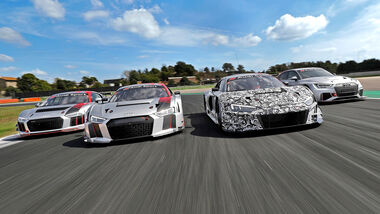 Audi GT Tracktest, Audi Sport Customer Racing