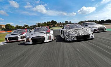 Audi GT Tracktest, Audi Sport Customer Racing