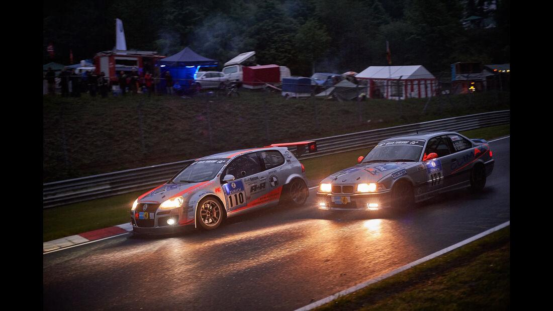 Audi Golf 5 R-Line - AC 1927 Mayen e. V. - #110 - Dr. Stefan Lohn, Michael Klotz, Jose Visir, Andre Benninghoven -24h Nürburgring  - Donnerstag - 1. Qualifying - 14.5.2015
