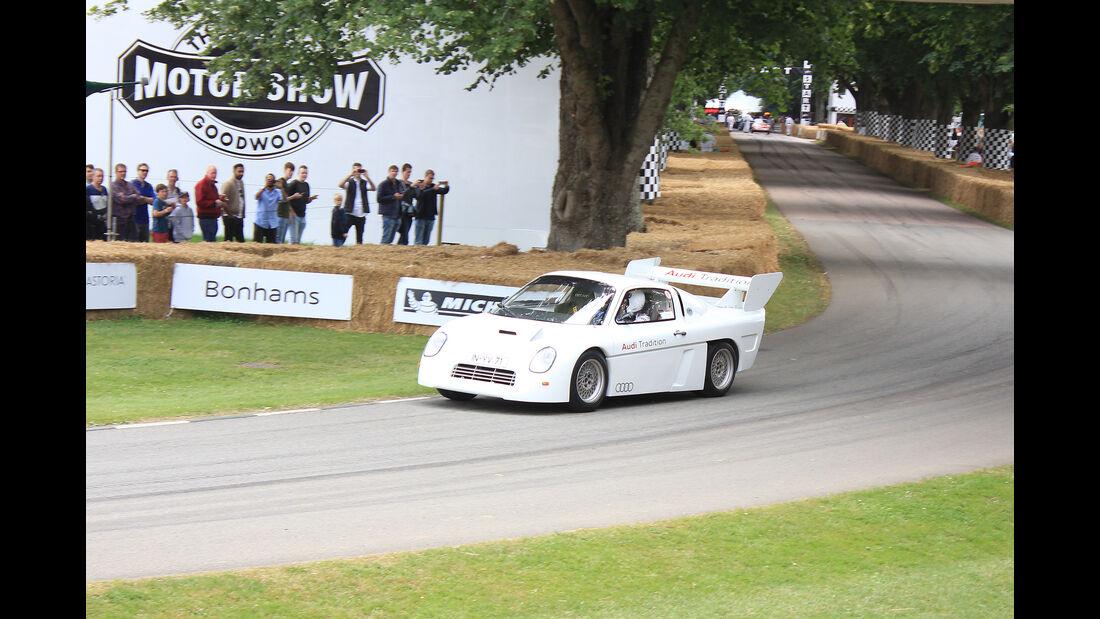 Audi Gruppe S Mittelmotor-Rallye-Prototyp