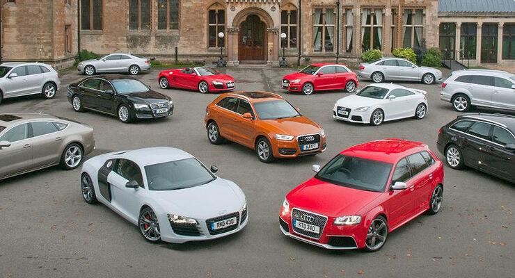 Audi Gruppenbild