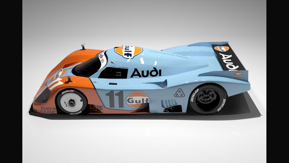 Audi Gulf LMP1 Concept - Oriol Folch Garcia