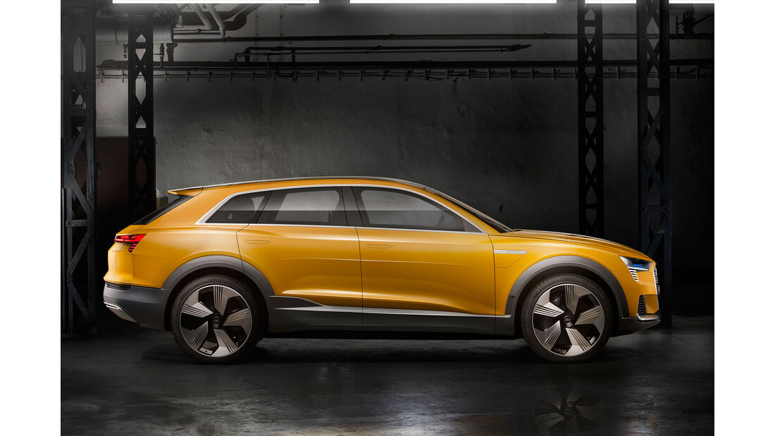 Audi H-Tron Quattro Concept Detroit 2016