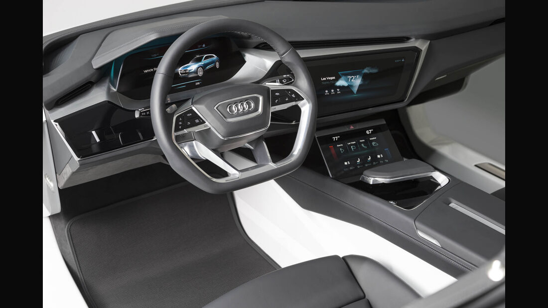 Audi HMI, Infotainment, CES 2016, Las Vegas