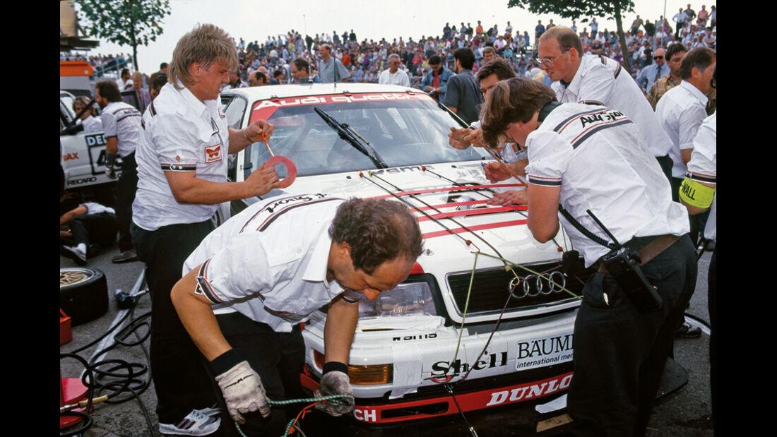 Audi, Hubert Haupt