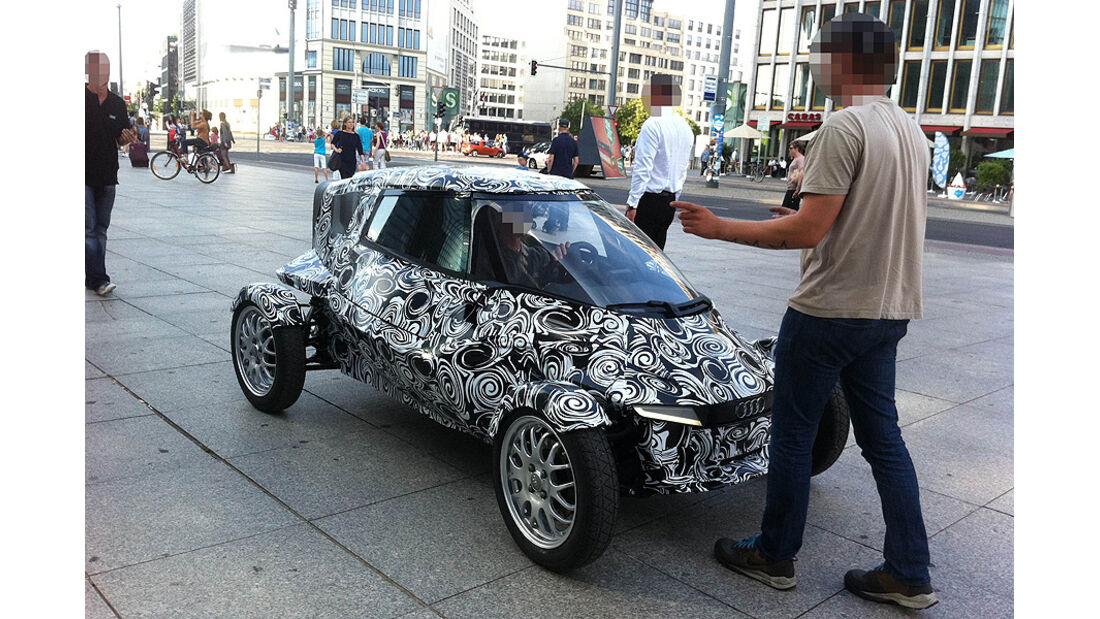 Audi Kabinenroller Erlkönig