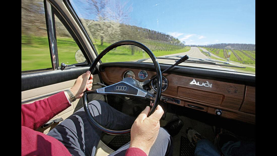 Audi L, Lenkrad