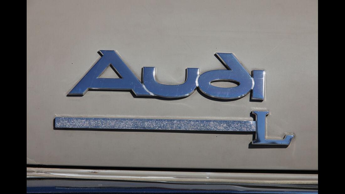 Audi L, Schriftzug, Typenbezeichnung