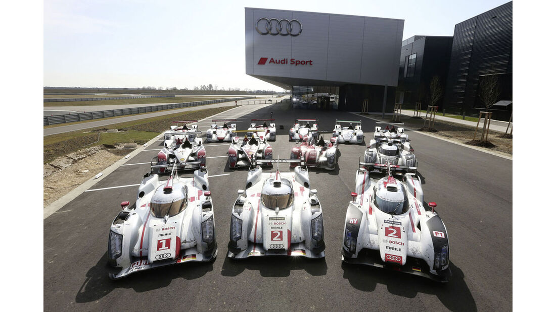 Audi - Le Mans - Siegerautos