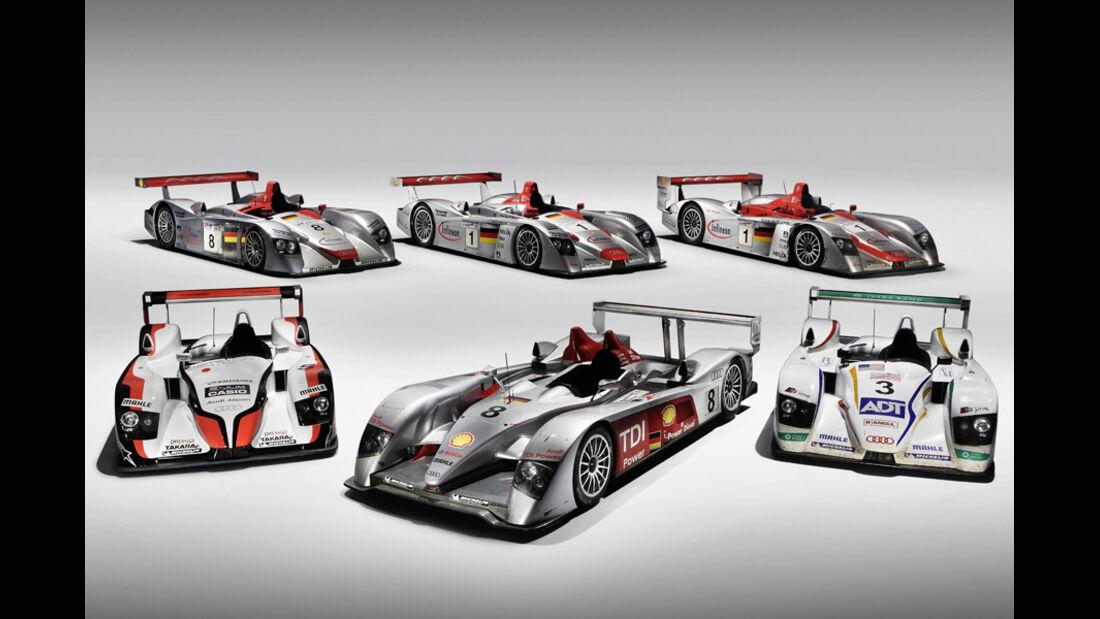 Audi Le Mans Siegerautos 2000-2006