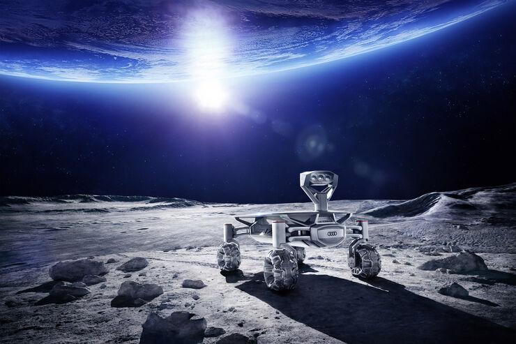 Audi Lunar Quattro, Lunar Rover, Mondbuggy, Part-Time Scientists