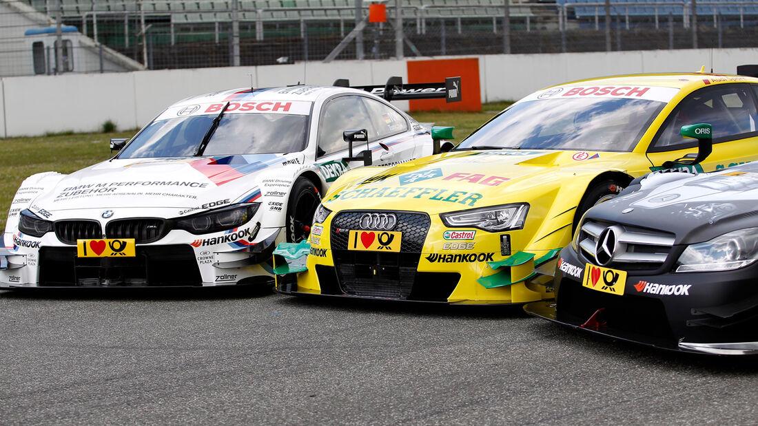 Audi, Mercedes & BMW - DTM 2014