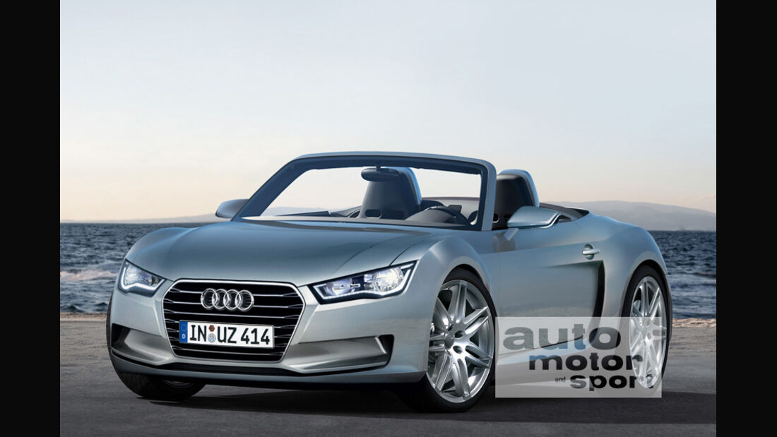 Audi-Mittelmotor-Konzept