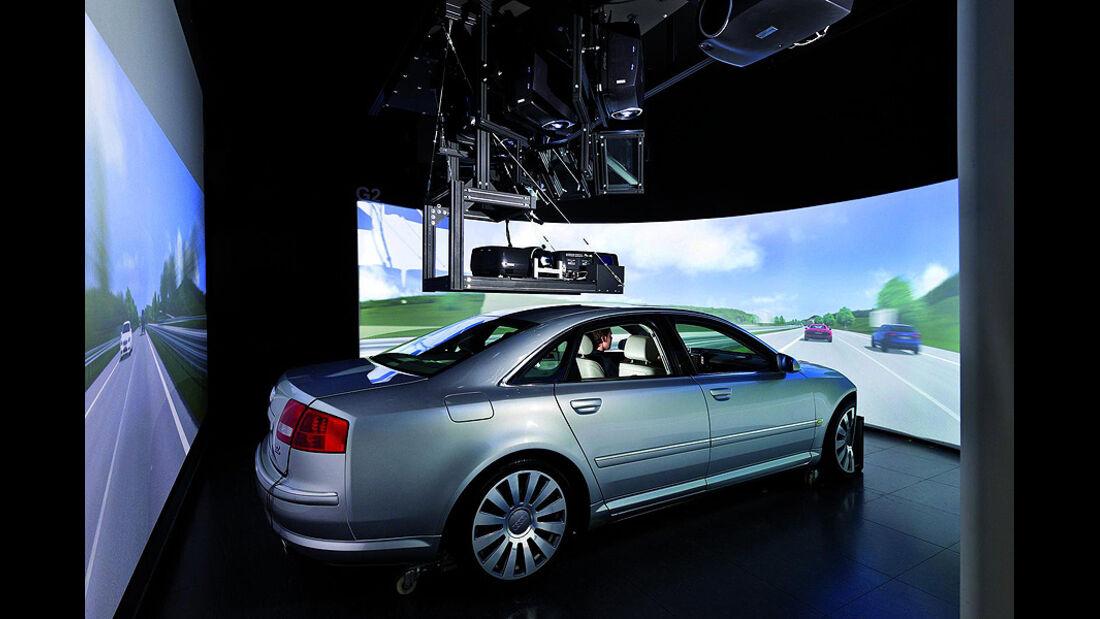 Audi Multitouch-Bedienung
