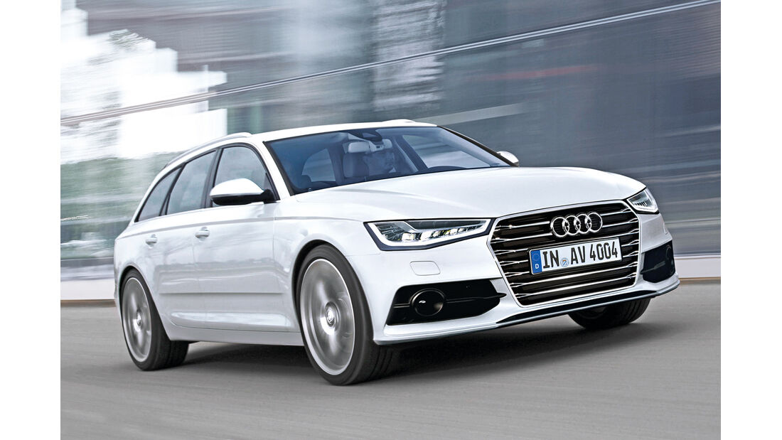 Audi, Neuheiten, A4 Avant