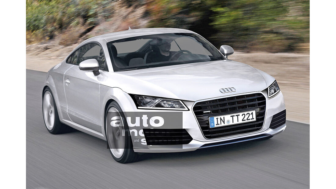 Audi, Neuheiten, TT