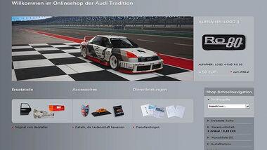 Audi Onlineshop