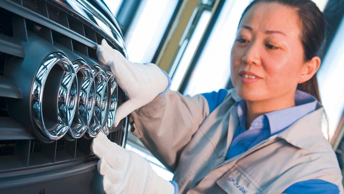 Audi Produktion China