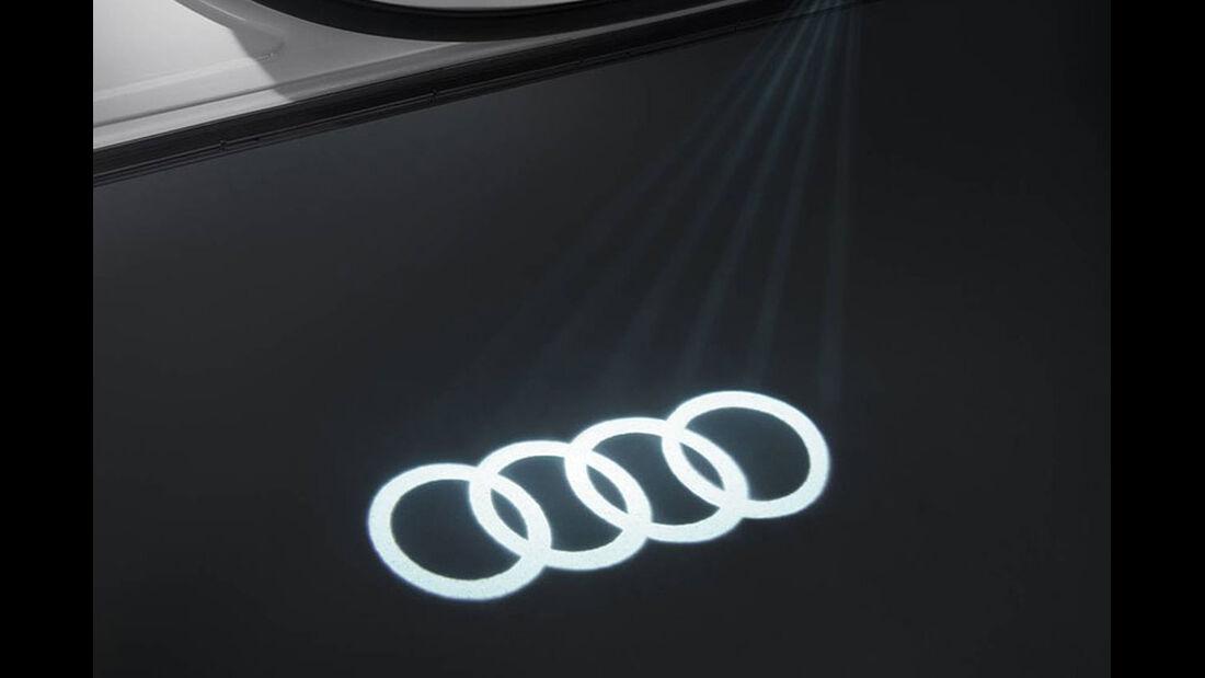 Audi Projektion