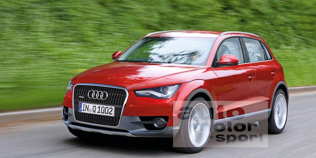 Audi Q1 Retusche