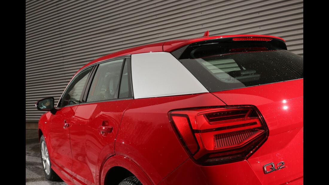 Audi Q2 1.4 TFSI, Heckleuchte