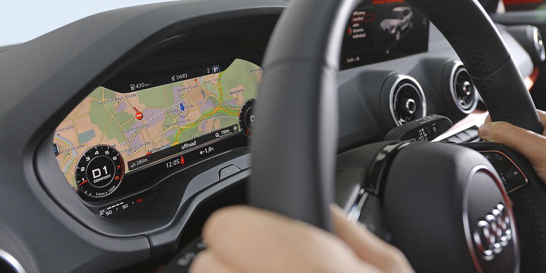 Audi Q2 1.4 TFSI, Interieur