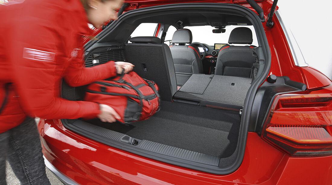 Audi Q2 1.4 TFSI, Kofferraum