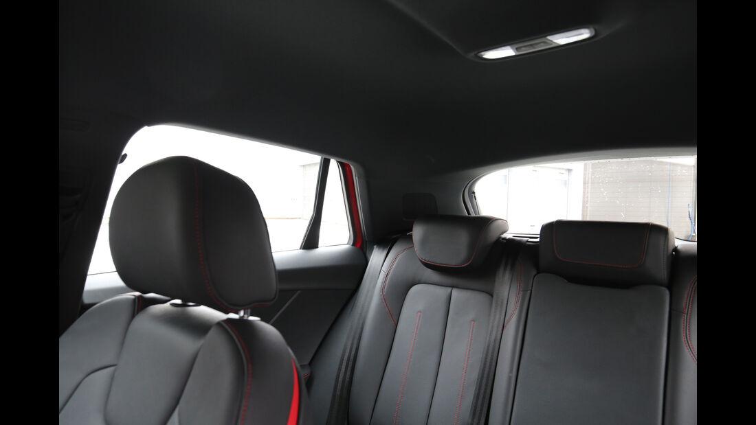 Audi Q2 1.4 TFSI, Kopfstütze
