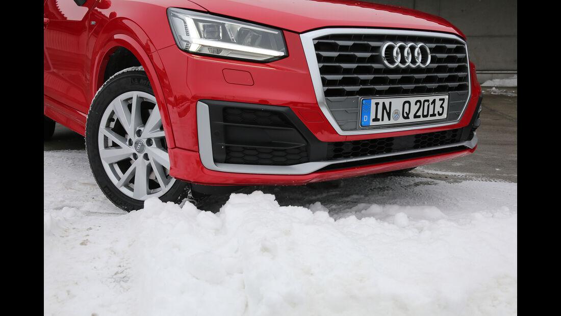 Audi Q2 1.4 TFSI, Kühlergrill
