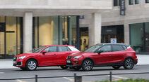 Audi Q2 1.4 TFSI, Seat Arona 1.5 TSI, Exterieur