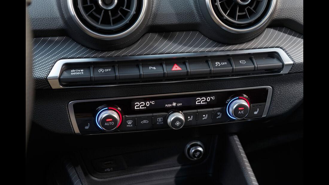Audi Q2 2.0 TDI Quattro, Bedienelemente