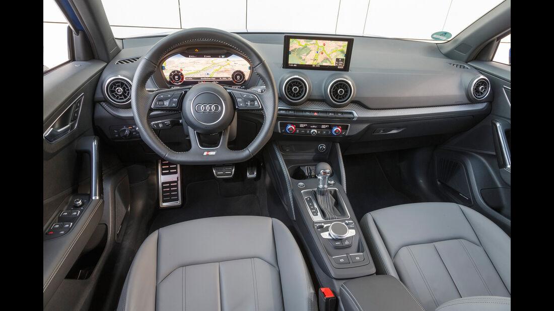 Audi Q2 2.0 TDI Quattro, Cockpit