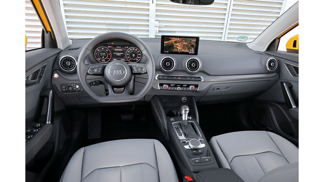 Audi Q2 2.0 TDI Quattro DSG, Cockpit