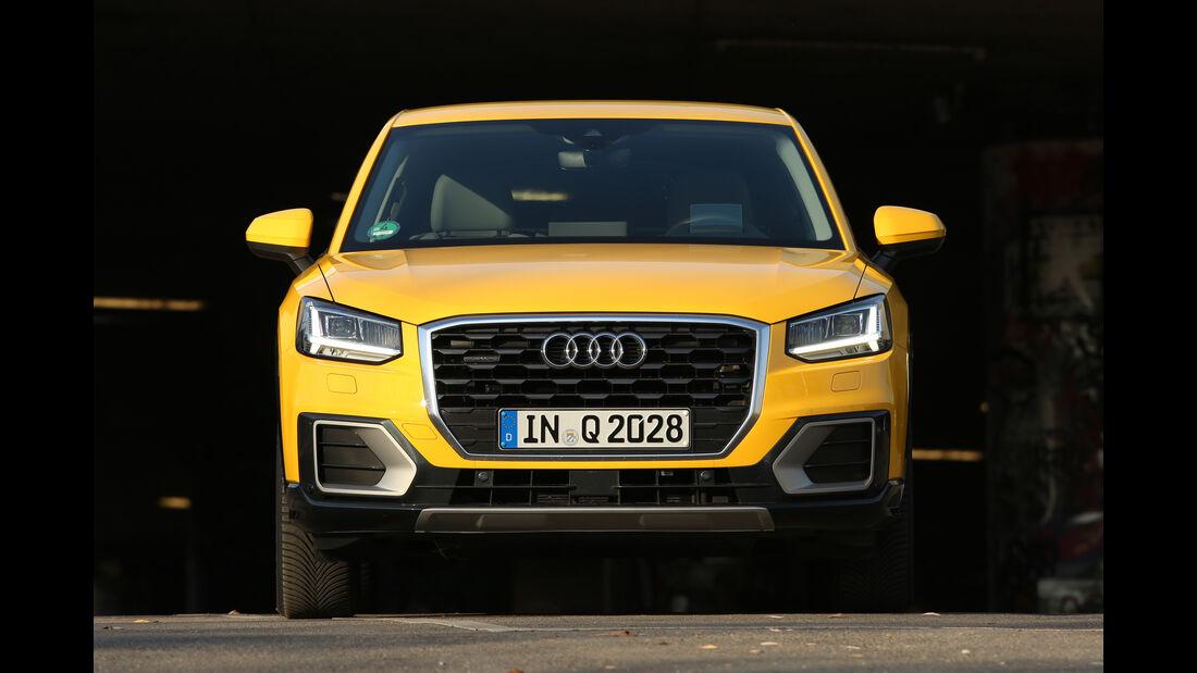 Audi Q2 2.0 TDI Quattro DSG, Frontansicht
