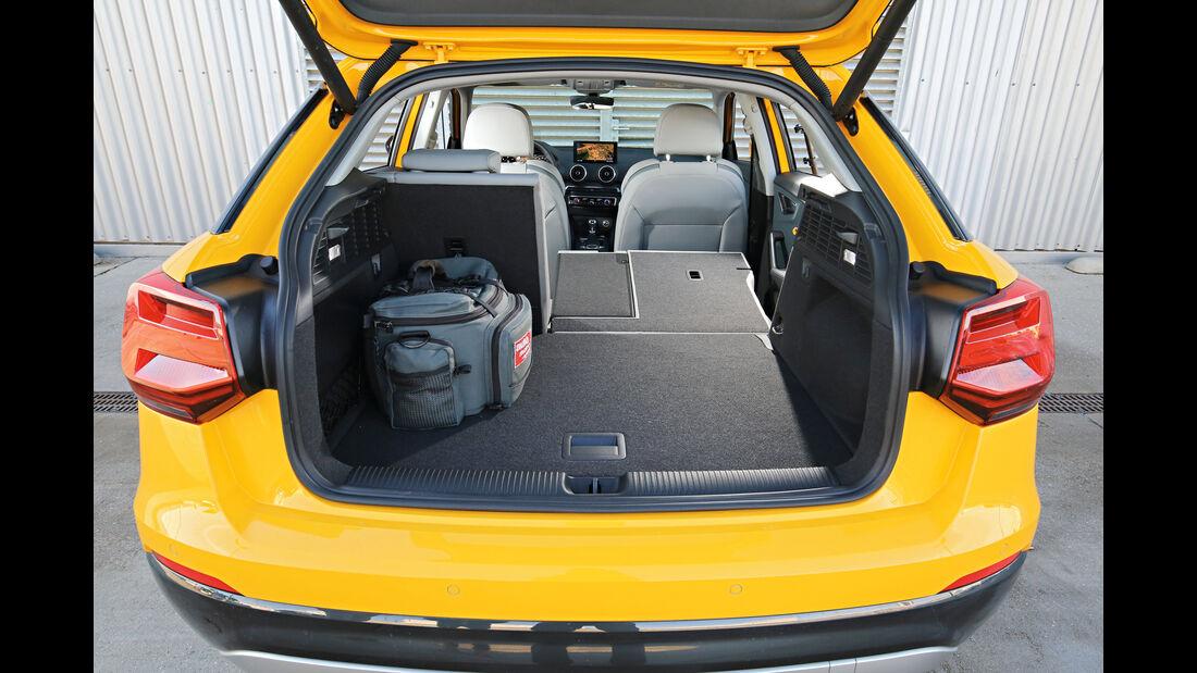 Audi Q2 2.0 TDI Quattro DSG, Kofferraum