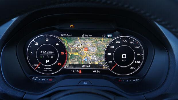 Audi Q2 2.0 TDI Quattro DSG, Rundinstrumente
