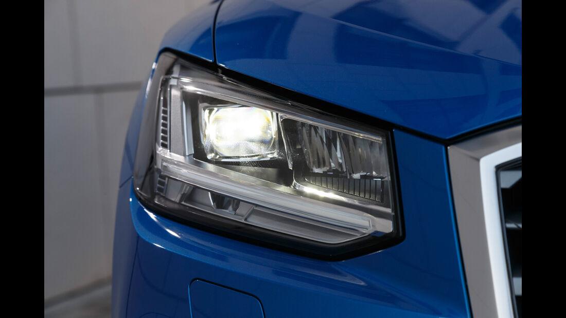 Audi Q2 2.0 TDI Quattro, Frontscheinwerfer