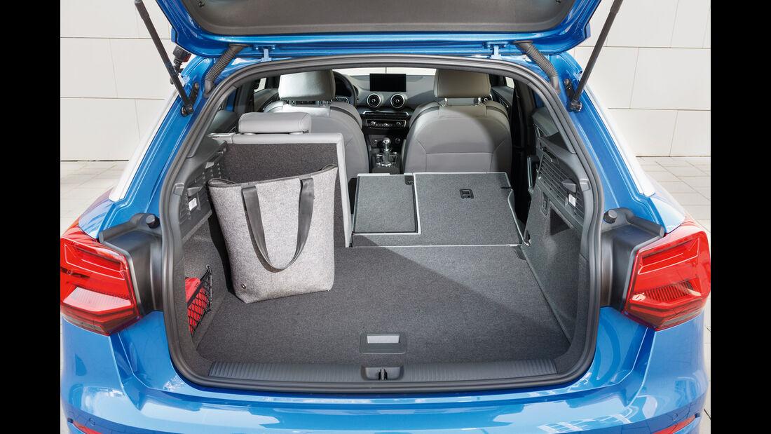 Audi Q2 2.0 TDI Quattro, Kofferraum